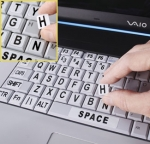 Large Print Keyboard/Laptop Labels