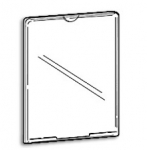 Wall Mount Enclosed Frames 4 x 6