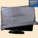 TV Padded Gray Dust Cover